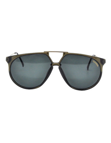 Carrera Vintage Smoke Grey Aviator Sunglasses 5415