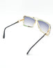 Cazal Vintage Navy Blue and Seafoam Sunglasses 859 277 - Amarcord Vintage Fashion  - 8