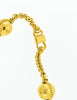 Celine Vintage Gold Star Globe Choker Necklace - Amarcord Vintage Fashion  - 5