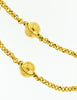 Celine Vintage Gold Star Globe Choker Necklace - Amarcord Vintage Fashion  - 4