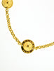 Celine Vintage Gold Star Globe Choker Necklace - Amarcord Vintage Fashion  - 3