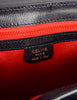Celine Vintage Navy Blue Leather Messenger Bag - Amarcord Vintage Fashion  - 10