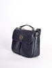 Celine Vintage Navy Blue Leather Messenger Bag - Amarcord Vintage Fashion  - 2