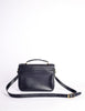 Celine Vintage Navy Blue Leather Messenger Bag - Amarcord Vintage Fashion  - 6