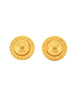 Celine Vintage Gold Star Globe Earrings - Amarcord Vintage Fashion  - 1