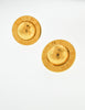 Celine Vintage Gold Star Globe Earrings - Amarcord Vintage Fashion  - 3