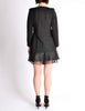 Chanel Black Pique & Chiffon Two-Piece Jacket & Shorts Suit - Amarcord Vintage Fashion  - 6