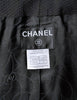 Chanel Black Pique & Chiffon Two-Piece Jacket & Shorts Suit - Amarcord Vintage Fashion  - 7