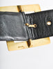 Chanel Vintage Black Satin Bow Belt - Amarcord Vintage Fashion  - 6