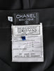 Chanel Vintage Black Silk Chiffon Tie Top & Palazzo Pant Ensemble - Amarcord Vintage Fashion  - 11