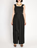 Chanel Vintage Black Silk Chiffon Tie Top & Palazzo Pant Ensemble - Amarcord Vintage Fashion  - 4