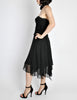 Chanel Vintage Black Silk Chiffon Layered Skirt - Amarcord Vintage Fashion  - 7