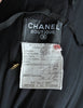 Chanel Vintage Black & Gold Silk & Tulle Evening Gown - Amarcord Vintage Fashion  - 13