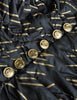 Chanel Vintage Black & Gold Silk & Tulle Evening Gown - Amarcord Vintage Fashion  - 12