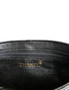 Chanel Vintage Black Quilted Lambskin Tassel Bag - Amarcord Vintage Fashion  - 6