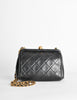 Chanel Vintage Black Quilted Crossbody Bag - Amarcord Vintage Fashion  - 5