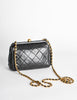 Chanel Vintage Black Quilted Crossbody Bag - Amarcord Vintage Fashion  - 4