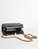 Chanel Vintage Black Quilted Crossbody Bag - Amarcord Vintage Fashion  - 7
