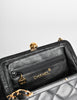 Chanel Vintage Black Quilted Crossbody Bag - Amarcord Vintage Fashion  - 8