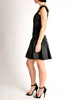 Chanel Vintage Black Satin Bow Pleated Dress - Amarcord Vintage Fashion  - 7