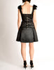 Chanel Vintage Black Satin Bow Pleated Dress - Amarcord Vintage Fashion  - 8