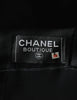 Chanel Vintage Black Satin Bow Pleated Dress - Amarcord Vintage Fashion  - 9