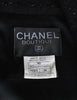 Chanel Vintage Black Wool Sparkly Two-Piece Suit - Amarcord Vintage Fashion  - 10