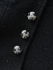 Chanel Vintage Black Wool Sparkly Two-Piece Suit - Amarcord Vintage Fashion  - 9