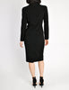 Chanel Vintage Black Wool Sparkly Two-Piece Suit - Amarcord Vintage Fashion  - 8