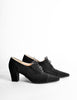 Chanel Vintage Black Suede Oxford Heels - Amarcord Vintage Fashion  - 5