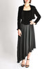 Chanel Vintage Black Velvet Chiffon Corset Dress & Bolero Jacket - Amarcord Vintage Fashion  - 6