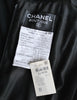 Chanel Vintage Black Velvet Chiffon Corset Dress & Bolero Jacket - Amarcord Vintage Fashion  - 13