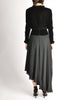 Chanel Vintage Black Velvet Chiffon Corset Dress & Bolero Jacket - Amarcord Vintage Fashion  - 11