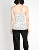 Chanel Vintage Black & White Graphic Silk Bustier Top - Amarcord Vintage Fashion  - 10
