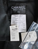 Chanel Vintage Black Boucle Wool & Linen Two-Piece Suit - Amarcord Vintage Fashion  - 9