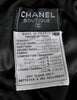 Chanel Vintage Black Velvet & Wool Maxi Evening Dress - Amarcord Vintage Fashion  - 8