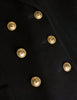 Chanel Vintage Black Wool Double Breasted Jacket - Amarcord Vintage Fashion  - 9