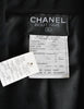 Chanel Vintage Black Wool Double Breasted Jacket - Amarcord Vintage Fashion  - 10