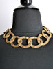 Chanel Vintage Gold CC Logo Chain Link Necklace - Amarcord Vintage Fashion  - 6