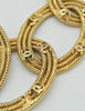 Chanel Vintage Gold CC Logo Chain Link Necklace - Amarcord Vintage Fashion  - 4