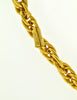 Chanel Vintage Gold Rhinestone CC Logo Necklace - Amarcord Vintage Fashion  - 7