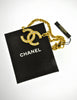 Chanel Vintage Gold Rhinestone CC Logo Necklace - Amarcord Vintage Fashion  - 9