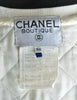 Chanel Vintage Novelty Print Quilted Bomber Jacket - Amarcord Vintage Fashion  - 13