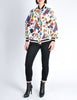 Chanel Vintage Novelty Print Quilted Bomber Jacket - Amarcord Vintage Fashion  - 4