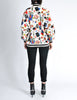 Chanel Vintage Novelty Print Quilted Bomber Jacket - Amarcord Vintage Fashion  - 9