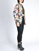 Chanel Vintage Novelty Print Quilted Bomber Jacket - Amarcord Vintage Fashion  - 8