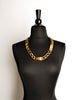 Chanel Vintage Gold Signature ID Plate Chain Necklace Belt