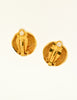 Chanel Vintage Gold Pegasus Namesake Earrings - Amarcord Vintage Fashion  - 5