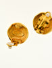 Chanel Vintage Gold Pegasus Namesake Earrings - Amarcord Vintage Fashion  - 6