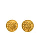 Chanel Vintage Gold Pegasus Namesake Earrings - Amarcord Vintage Fashion  - 1